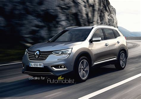 renault koleos 2017 2017 renault koleos grand kadjar masterfully rendered