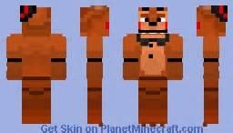 Fnaf 4 nightmare bonnie jack o bonnie in desc minecraft skin
