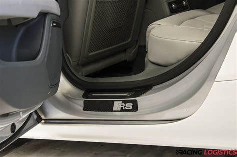 Audi Carbon Aufkleber by Audi Universal Rs Einstiegsleisten Carbon 3d Top Qualit 228 T