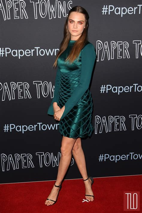 cara delevingne paper towns sydney premiere 23 cara delevingne in dion lee at the quot paper towns quot sydney
