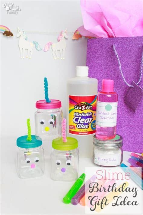 diy kid gifts diy birthday gift make this slime for gift
