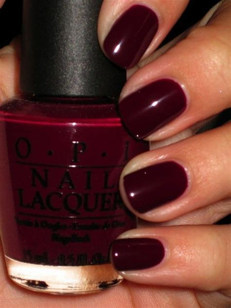dark nail colors for over 50 william tell opi and fall nail colors on pinterest