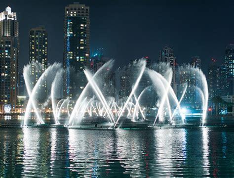 The Dubai Fountains   AttractionTix
