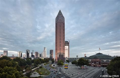 Architect Companies messeturm the skyscraper center