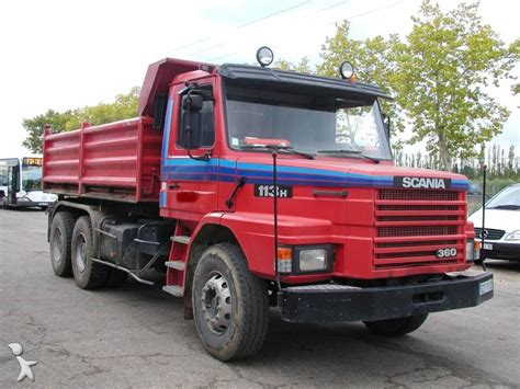 Photos camion Scania benne, tri benne Scania 113H occasion 221236