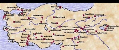 turkey archaeological sites map turkey archaeological sites map my blog