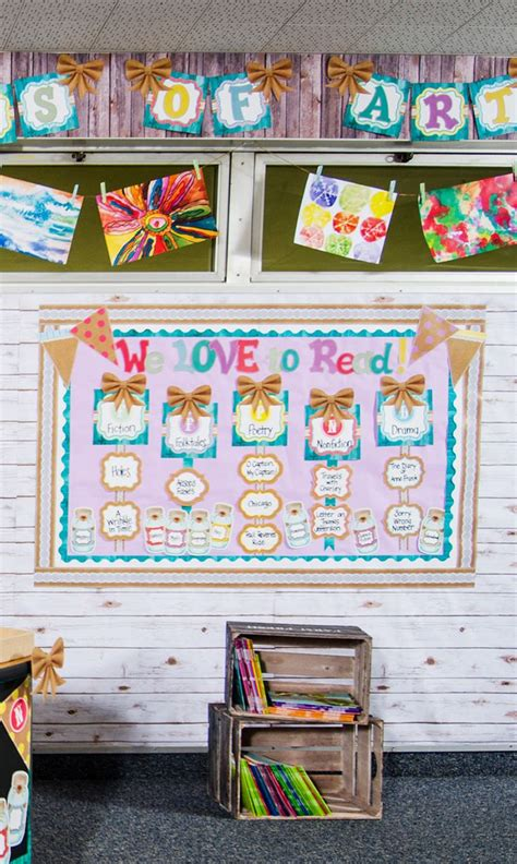 76 best shabby chic burlap classroom decorations images on