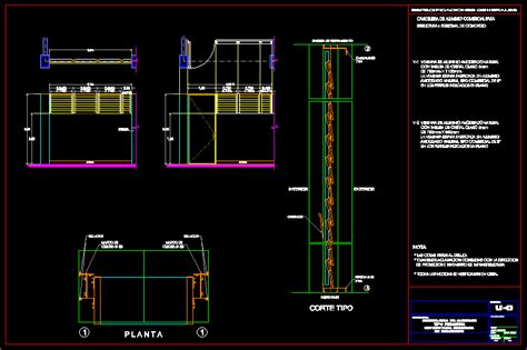aluminium louver dwg section  autocad designs cad