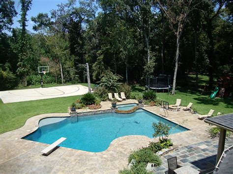 pool in the backyard pool impressive pools for backyard activity ideas pool with deck modern pool