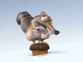 Blind Squirrel Finds Nut Scrat Images Scrat Hd Wallpaper And Background Photos