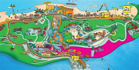siloso resort location map things to do in singapore siloso map in