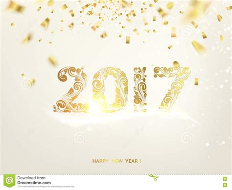 free happy new year card template happy new year 2017 stock vector image of glowing