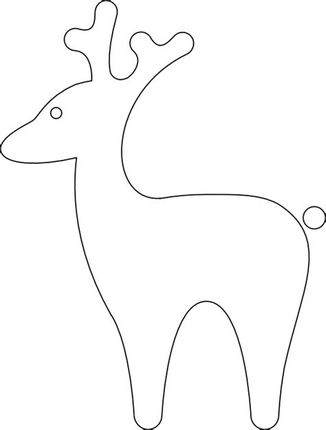 Search Results For Reindeer Outline Calendar 2015 Reindeer Silhouette Template