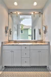 vanity mirror ideas bathroom transitional with are rug