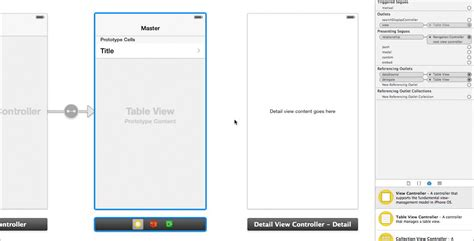 xcode table layout ios how to make a push segue when a uitableviewcell is