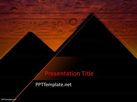 Free Pyramid Ppt Template Pyramid Powerpoint Template