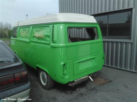 garage volkswagen bordeaux combi westfalia sorti de peinture vintage cer