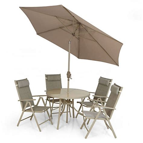 metal garden chairs homebase andorra 4 seater metal garden furniture set collect in store