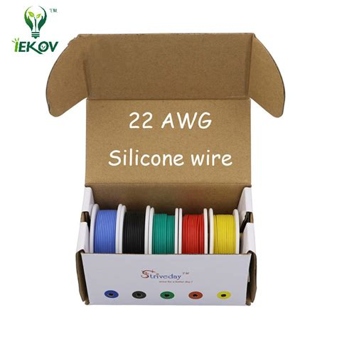 50m 28awg Silicone Wire Cable 5 Color Mix Package Box Ii nitro rc accessories promotion shop for promotional nitro rc accessories on aliexpress