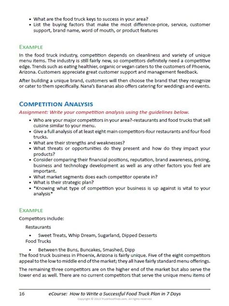 moving company business plan template sle business plan for food truck business