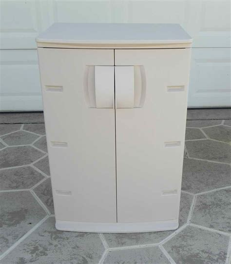 rubbermaid storage shelves my other free standing used storage utility cabinet see the other identical one in my other
