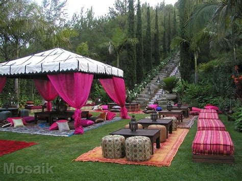 sweet sixteen backyard party ideas sweet 16th moroccan party