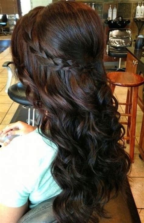 Hairstyles With Curls by Soft Curl Hairstyles For Prom Hair