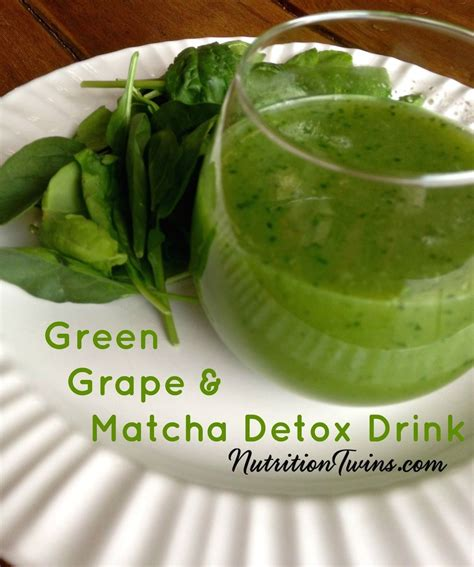 Green Detox Juice Calories by Green Grape Matcha Detox Drink Recipe Green Grape