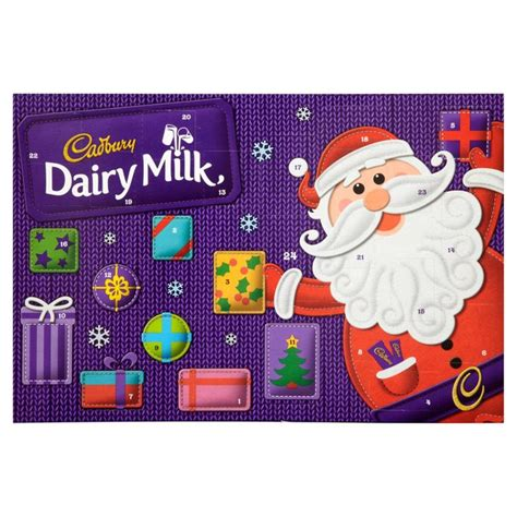 Chocolate Advent Calendar Cadbury Dairy Milk Advent Calendar From Ocado