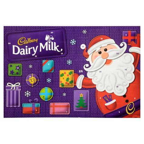 Cadbury Advent Calendar Cadbury Dairy Milk Advent Calendar From Ocado