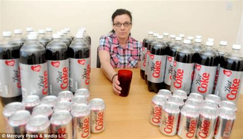 Coke Detox by Diet Coke Addict Drinks Up To Fifty Cans A Day And Has