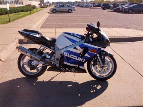 Suzuki Gsxr 750 Gas Mileage 2001 Suzuki Gsx R Gsxr 750