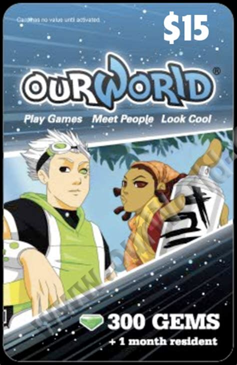 Ourworld Gift Card - ourworld game cards ourworld game card online store powered by storenvy