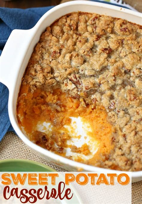 Simple Sweet by Easy Sweet Potato Casserole The Country Cook