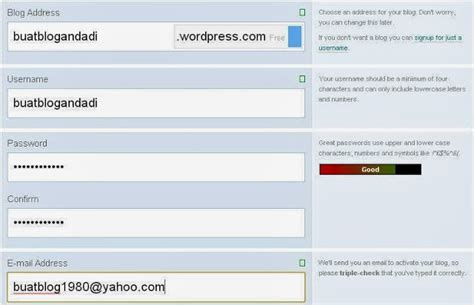 cara membuat posting di blog wordpress 5 tahap cara membuat blog di wordpress gratis