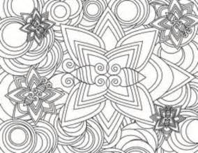 Design coloring pages picture 40 printable geometric design