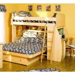 Bunk Bed With Desk And Storage Berg Furniture Wayfair