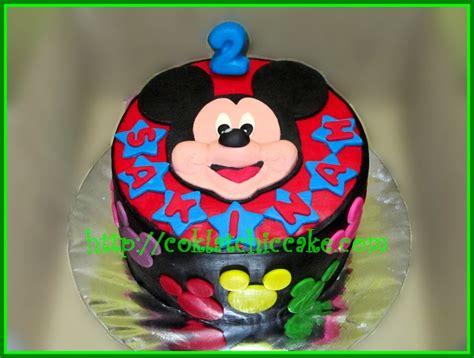 Cake Banner Mickey Mouse Miki Hiasan Ulang Tahun Kue Tar Anak cake mickey mouse sakinah jual kue ulang tahun