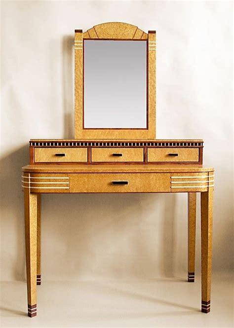 custom made vanity table made deco vanity with mirror by joel liebman
