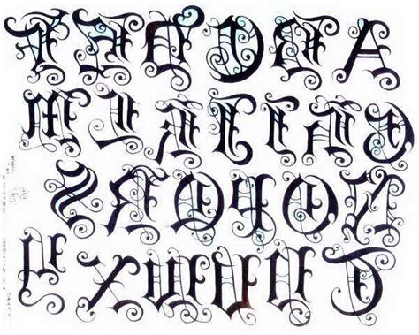 tattoo fonts old english english letter font old english letters tattoos 1000
