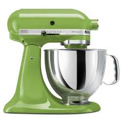kitchenaid artisan 5 quart stand mixers assorted colors