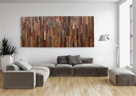 large wall art large wood wall art made of old reclaimed barnwood different