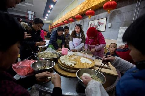 new year traditions dumplings lunar new year feast begins with drums and