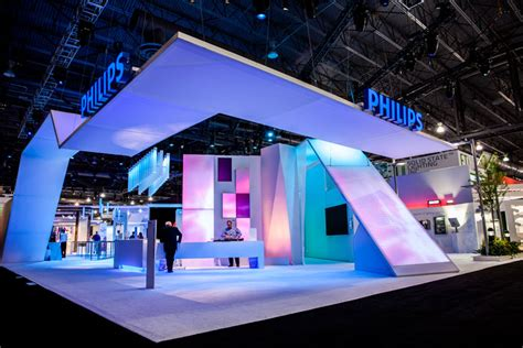 home decor exhibition philips a crisp white foundation showed philips lighting products in the company s booth at