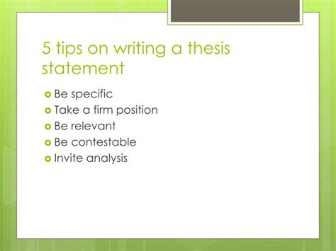 tips for writing a dissertation tips on writing a thesis statement 28 images tips on