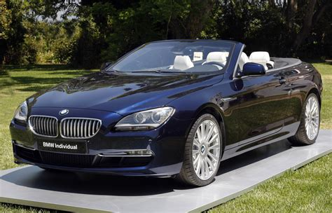 2012 bmw 6 series convertible worked by bmw individual