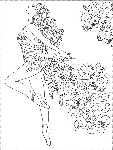 dance coloring pages free printable nicole s free coloring pages ballerina primavera ballet