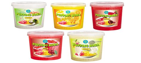 Popping Boba Kiwi 32 Kg new product popping boba for tea drinks