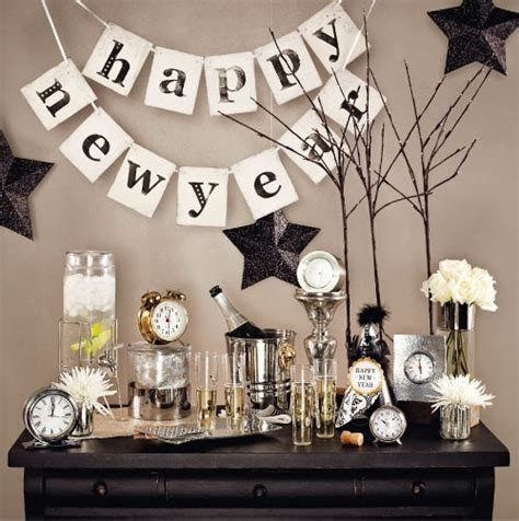 new year party decoration ideas at home feestdagen oud nieuw special feestelijke decoratie