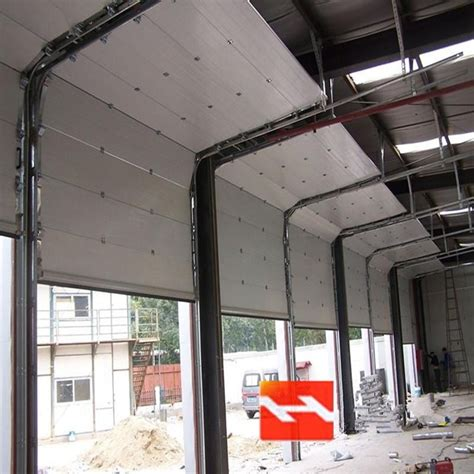 Overhead Garage Door Manufacturers China Automatic Overhead Sectional Vertical Sliding Garage Door Suppliers Hf J507 Buy